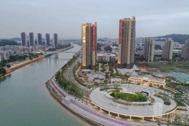 大華博富禦潭江_江門 首期5萬 鐵路沿線物業 香港銀行按揭